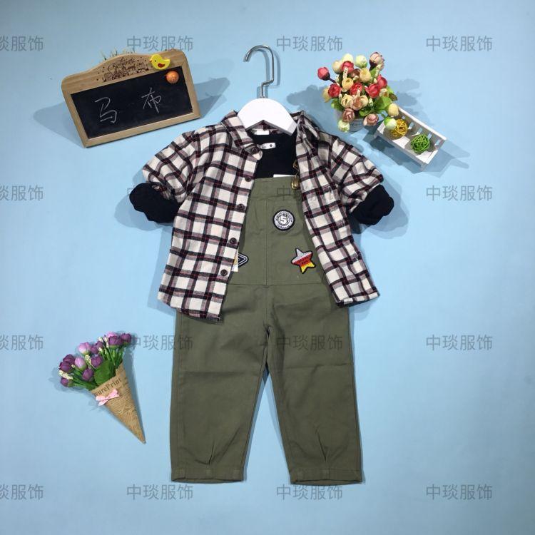 新品秋装童装 品牌马布韩版秋装批发