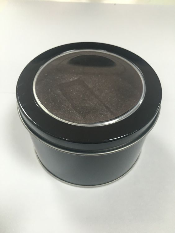 卡家西欧电子表专属铁盒礼品盒圆形铁盒现货批发支持OEM订制LOGO