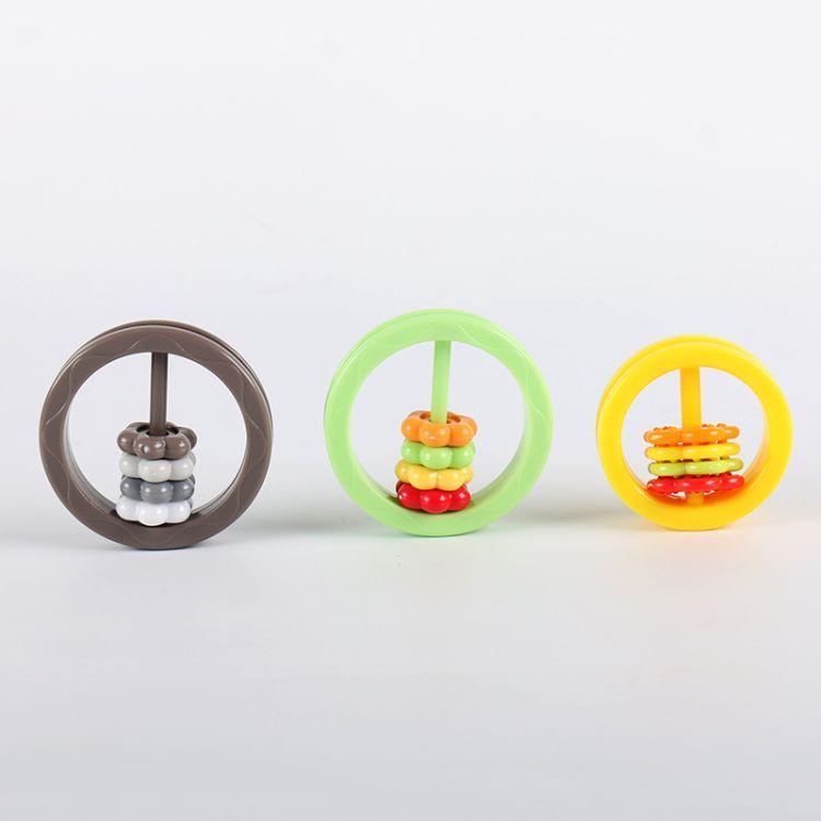 圣恩 彩色圆环算珠玩具 塑料婴儿玩具