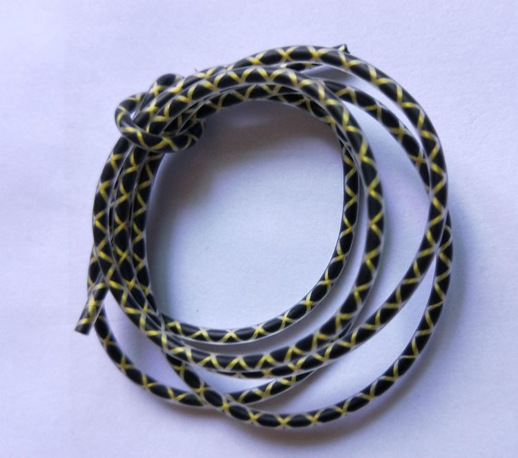 厂家供应高端蛇纹耳机线材 多股漆包线 铝绞纹耳机线材