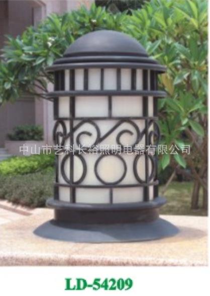 厂家供应LED柱头灯  围墙圆形方形  铝制不锈钢制led围墙灯
