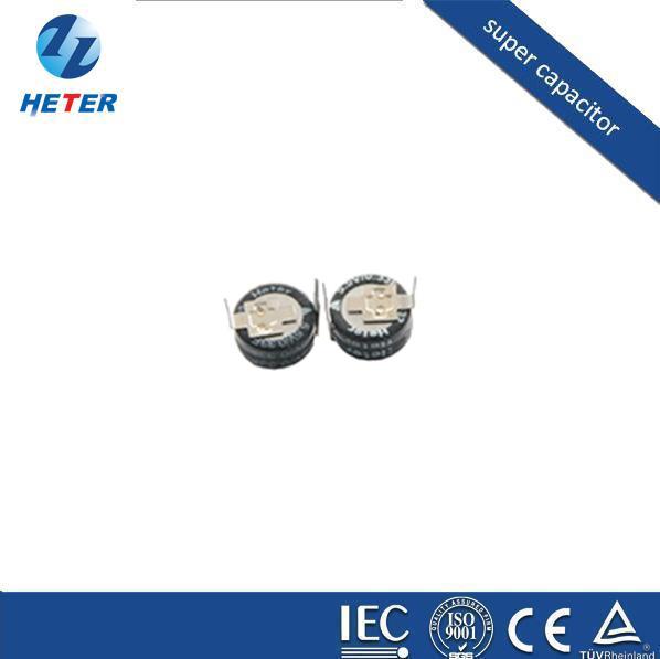 电容器、厂家生产法拉电容、超级电容器、叠片形5.5V0.33 F H型