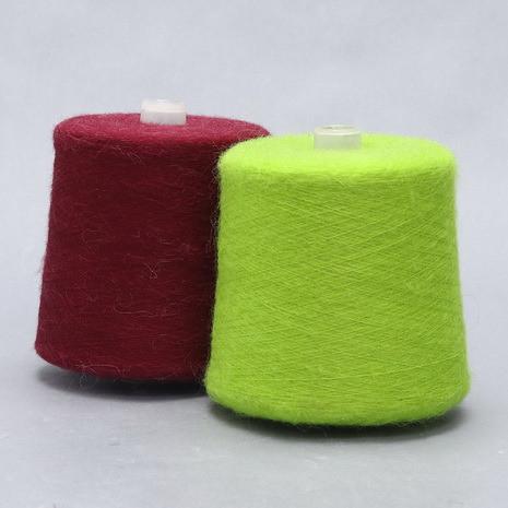 现货供应柔软低比例安哥拉羊毛马海毛起毛线