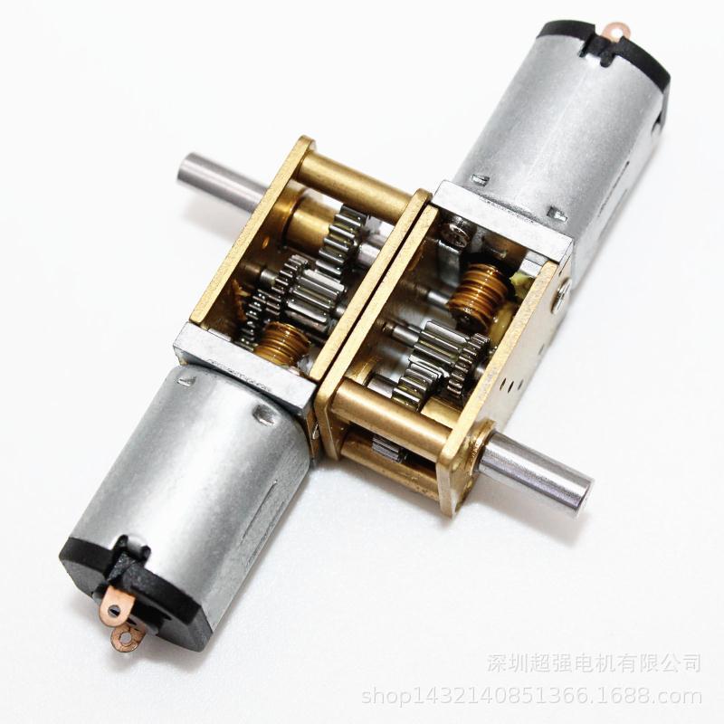 N20数码产品电机/12GA模型玩具减速电机/12*10智能指纹锁减速电机