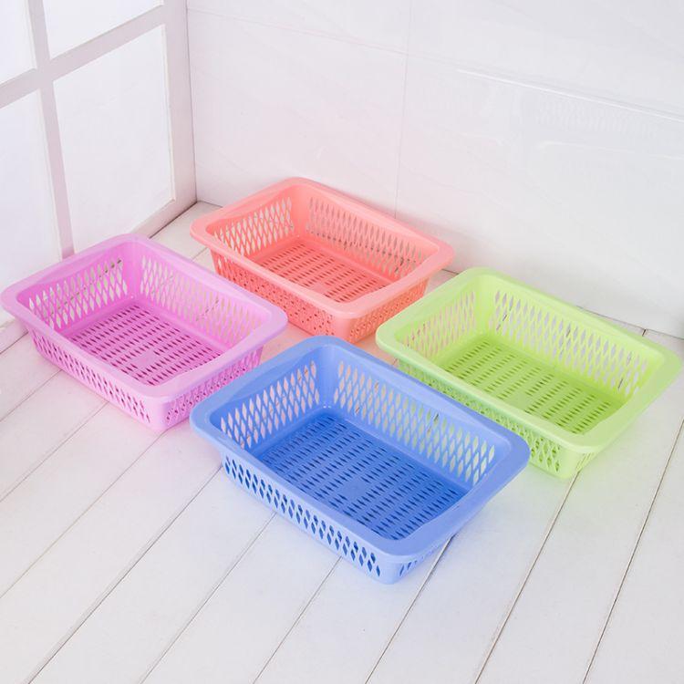 【榕星厂家】塑料方筛长方形沥水筛 正方形塑料筐子蔬菜水果盆
