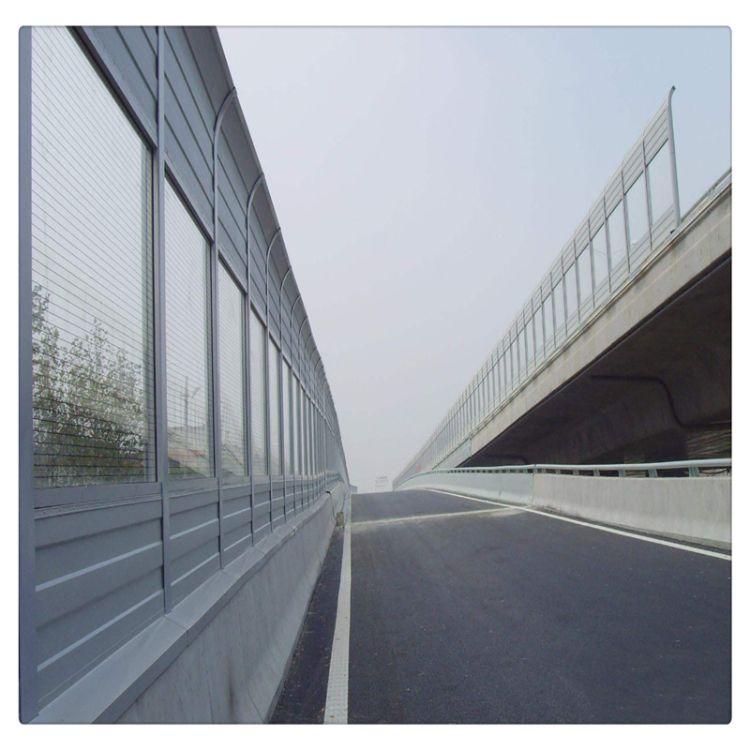 厂家供应高速公路隔音声屏障消音屏A公路隔音板百叶孔防护声屏障
