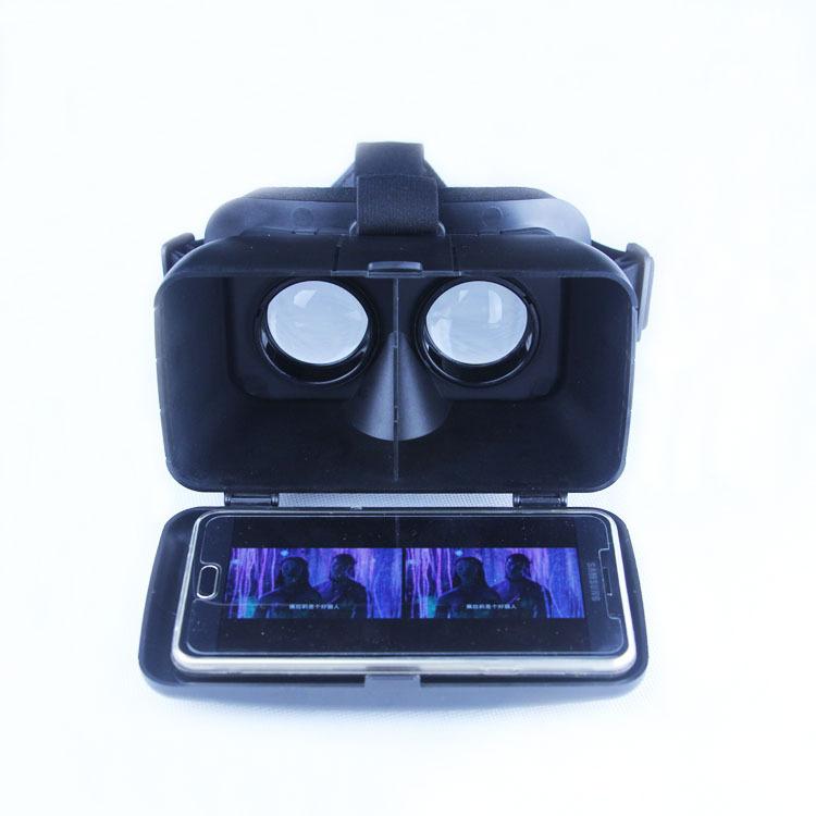 新款虚拟现实3D眼镜 手机影院眼睛头戴式 VRBOX3D数码眼镜厂家