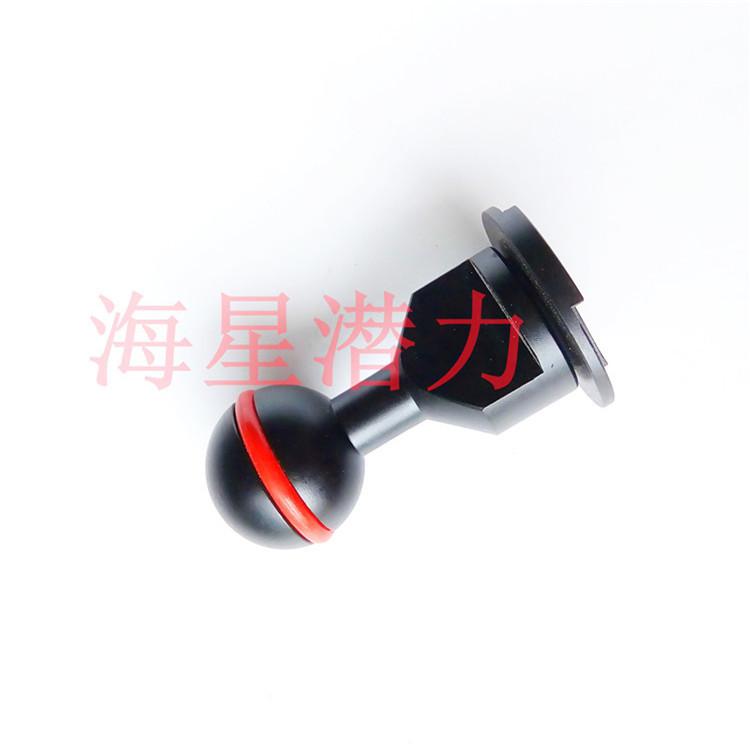 相机热靴球头 潜水摄影转接配件