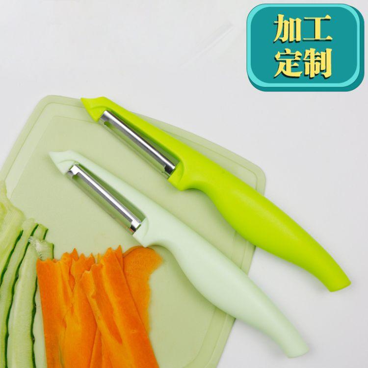 新款水果削皮器 不锈钢刨皮刀 多功能瓜果去皮刀
