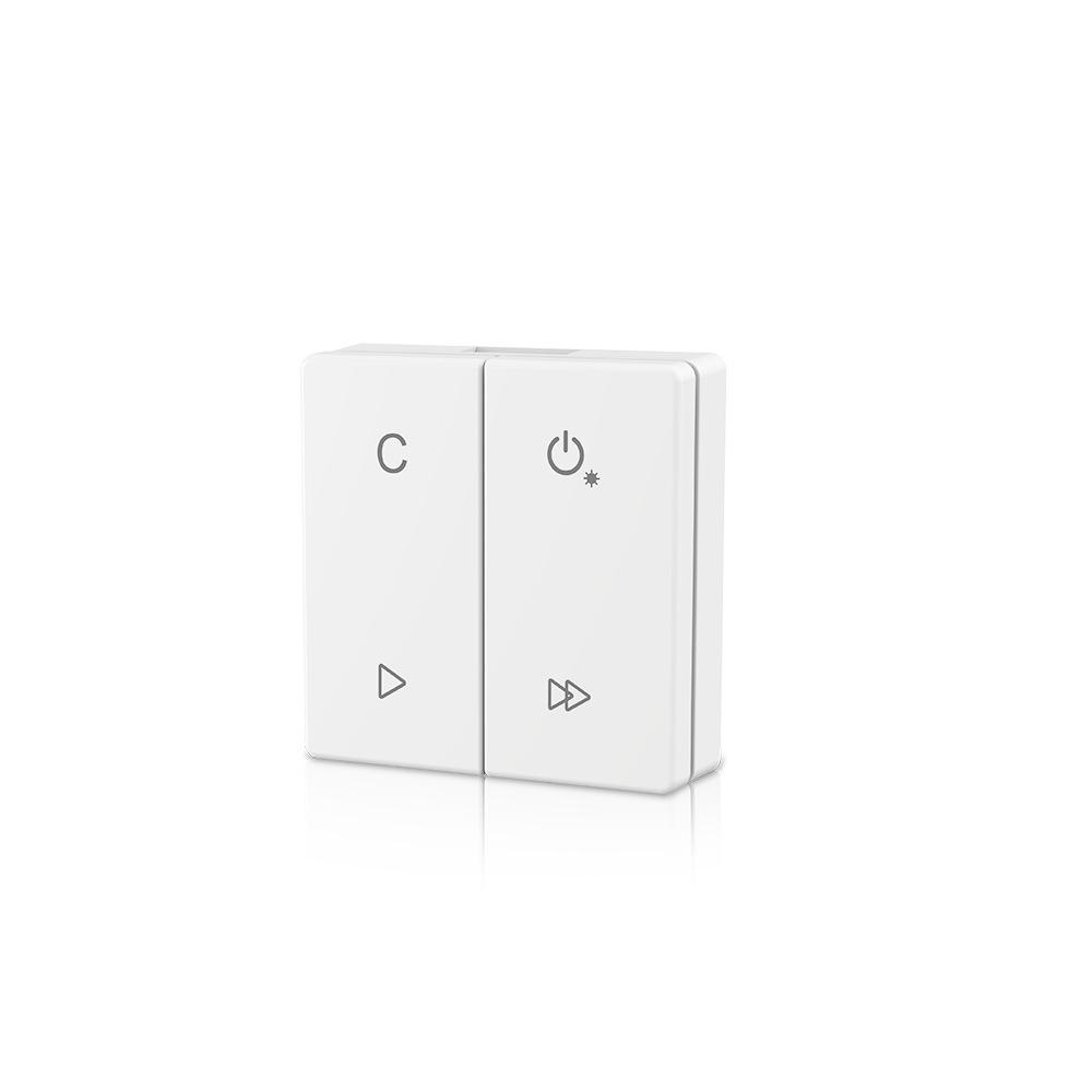 86面板RF2.4G按键调光器,RGB / RGBW遥控器,PF3