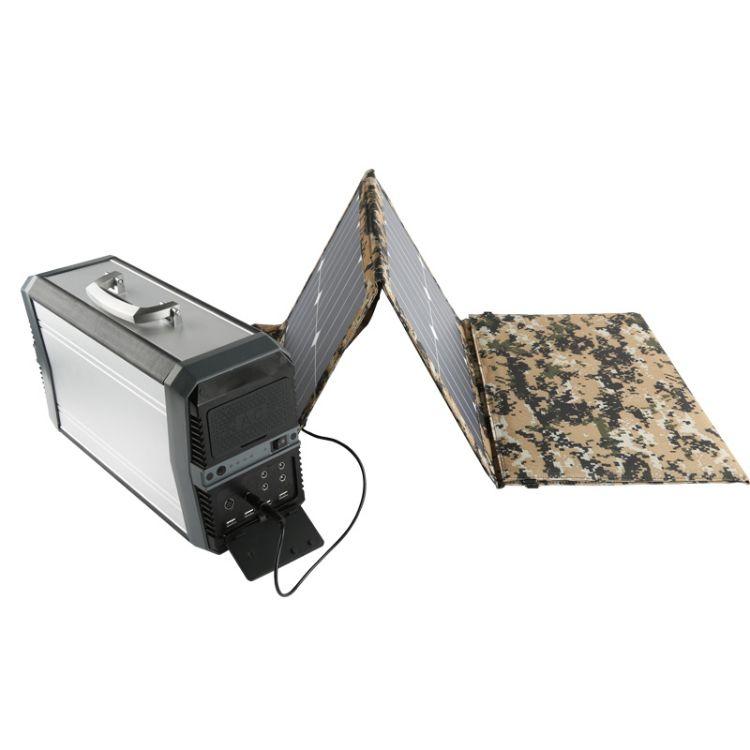 尚族太阳能发电系统 户外发电机500W设备 80W太阳能包配套