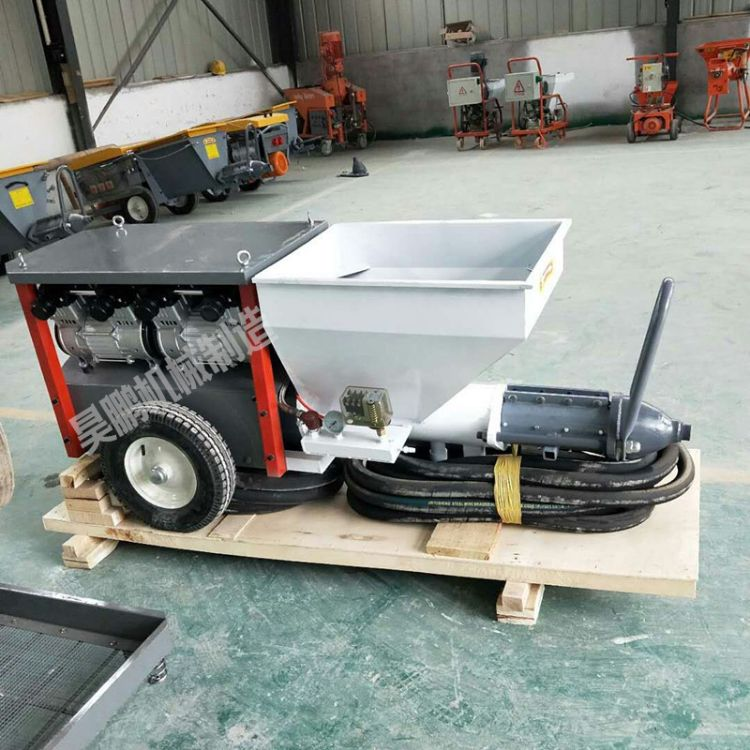 搅拌喷涂机 电动无气高压水泥砂浆喷涂机 优质抹墙机