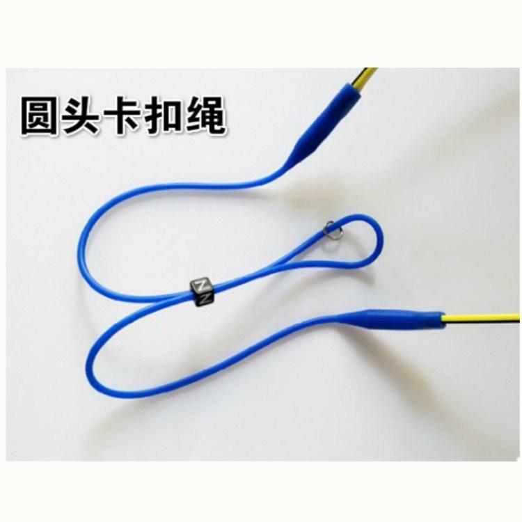 欧美爆款硅胶圆头卡扣儿童成人眼镜绳运动眼镜固定防滑套