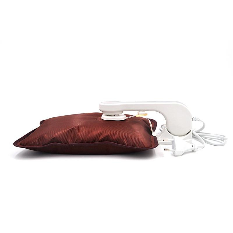 国标丝光毛绒拉链电热水袋暖手宝电暖袋暖腰宝电暖宝防爆暖手袋