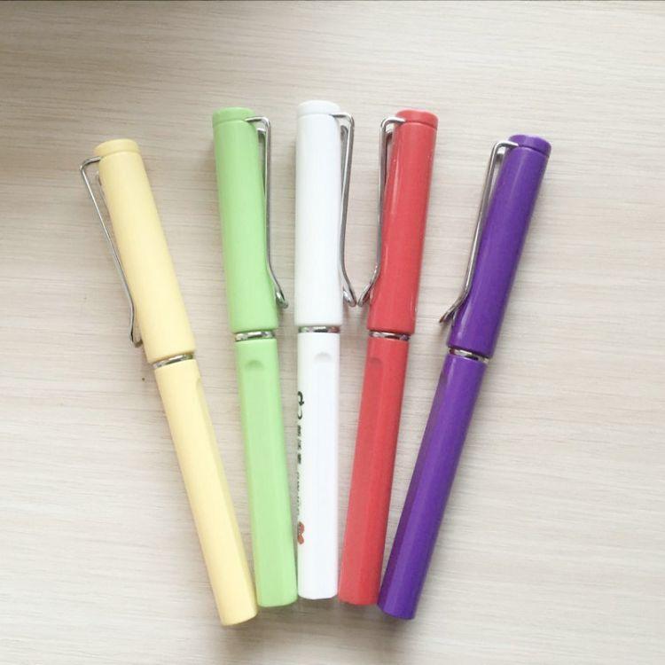 供应新款中性笔 彩色中性圆珠笔 商务馈赠礼品笔批发 学生写字笔