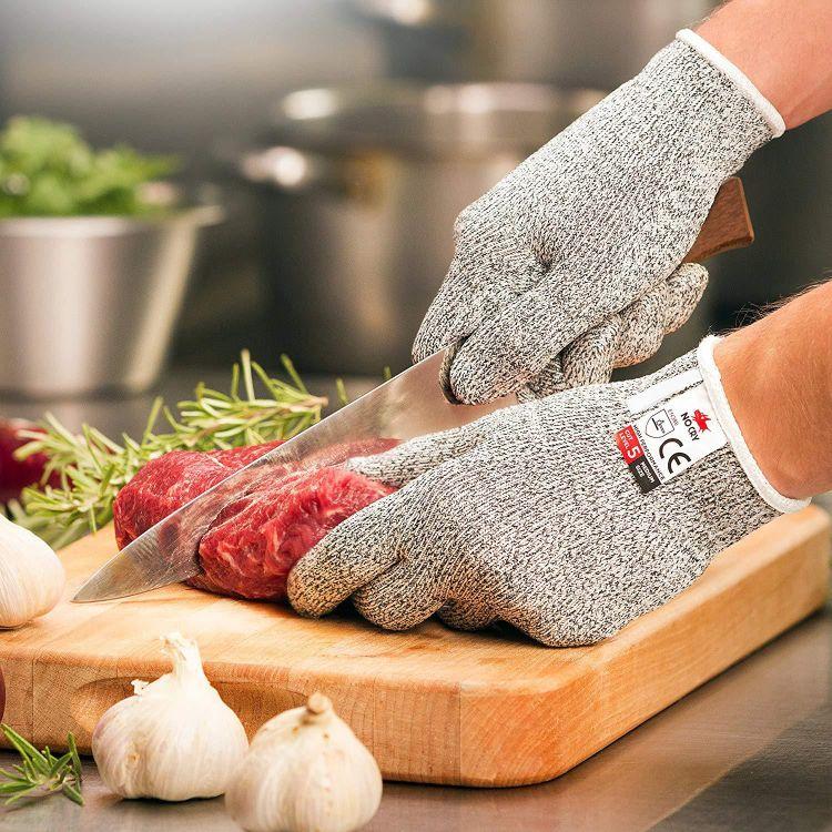 防切割耐磨安全手套厨房HPPE5级防割手套防割钓鱼手 厂家直销定制