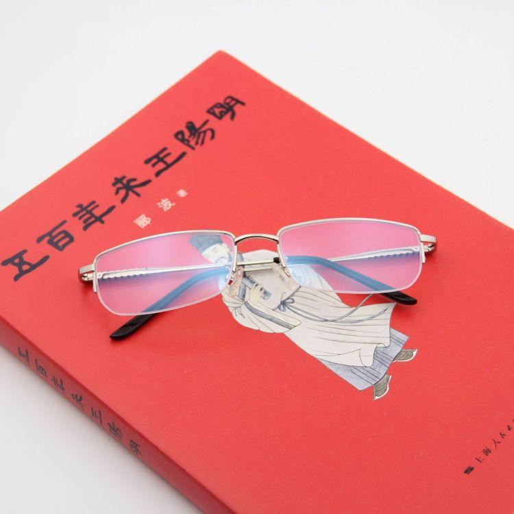 金属平光近视镜架防蓝光抗辐射护目镜批发可配近视镜夹太阳镜夹片