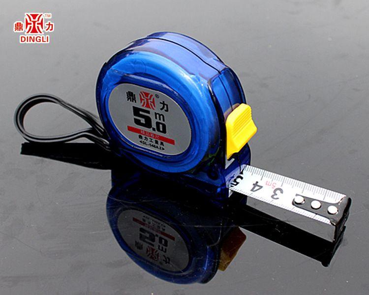 新款兰色透明系列3米-10米虞城钢卷尺厂家报价进口卷尺合尺贴牌