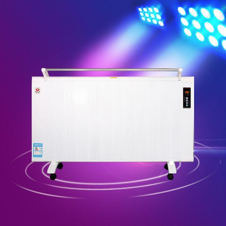厂家直供节能环保电采暖炉 家用智能落地式电暖器电取暖器