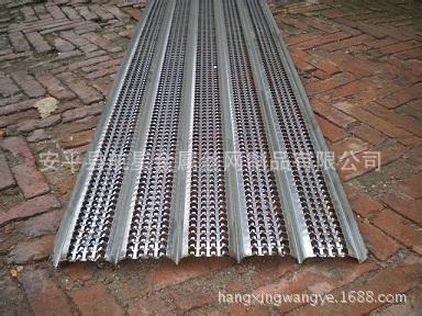 航星厂家供应0.1-0.4mm厚的快易收口网  免拆模板网 后浇带钢板网