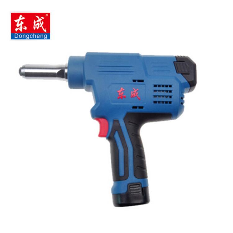 东成(DCA)锂电铆钉枪12v电动铆接工具抽芯拉铆枪 DCPM40/50E