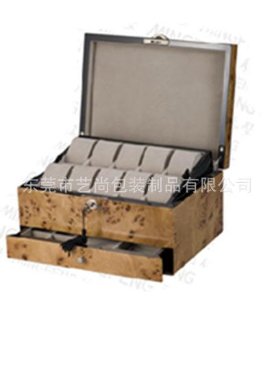 艺尚包装供应钢琴烤漆木盒  手表盒 手表箱 手表展示 摇表器盒子