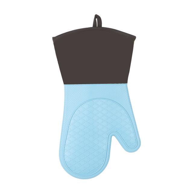 家润硅胶隔热手套烤箱防烫耐高温烘焙工具出口车缝棉布加厚刺绣