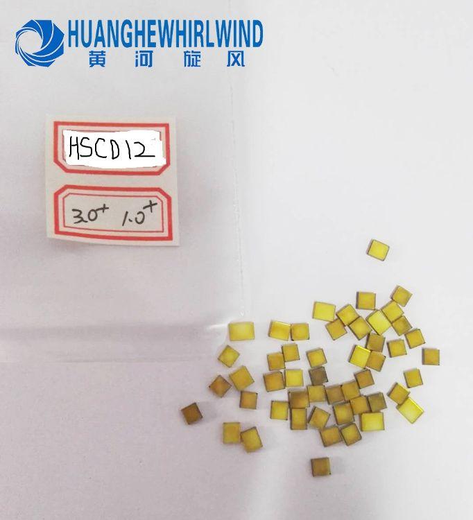 正品黄河旋风工业级金刚石大单晶3.0mm+