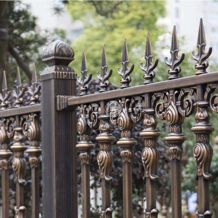 铝合金管阳台护栏 别墅新型铁艺隔离防护栏阳台栏杆定制