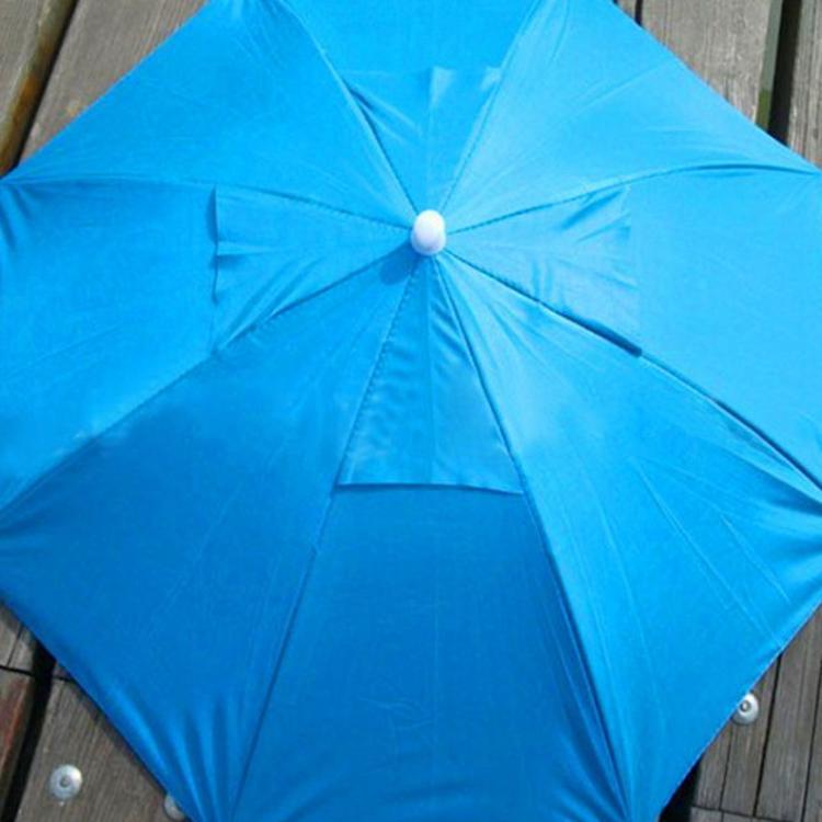 钓鱼伞防晒紫外线伞帽 帽伞 帽子伞头戴带伞 雨伞地摊产品广告