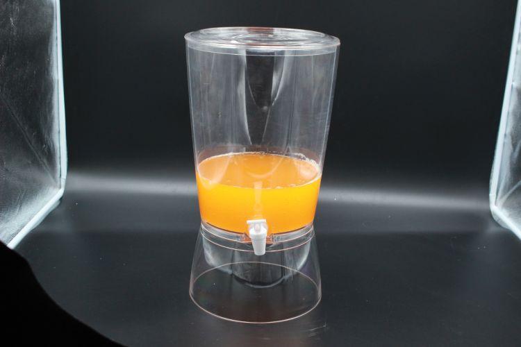 批发亚克力果汁桶 自助餐厅西餐厅饮料机饮水机大容量透明果汁机