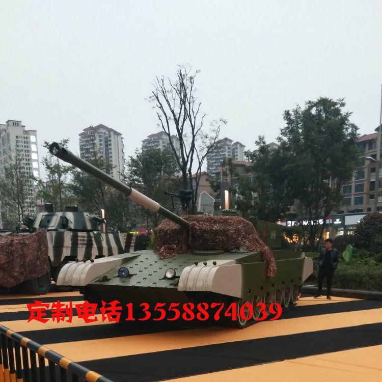大型99坦克战车金属模型大比例军事铁艺创意摆件厂家直销出售出租