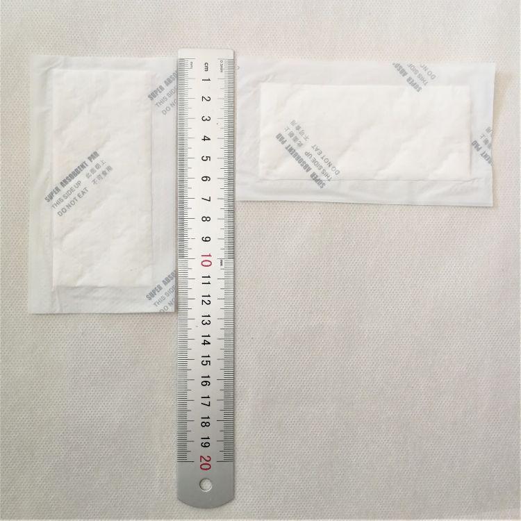 生鲜食品吸水垫 超市耗材吸水垫 托盘吸水纸  130x70mm