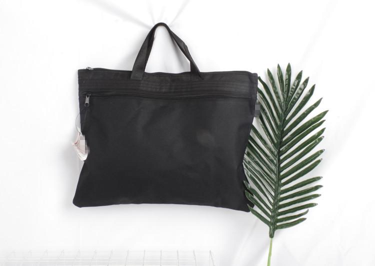 品牌尾单文件袋办公用品可装A4拉链帆布袋资料袋女批发学生文具袋
