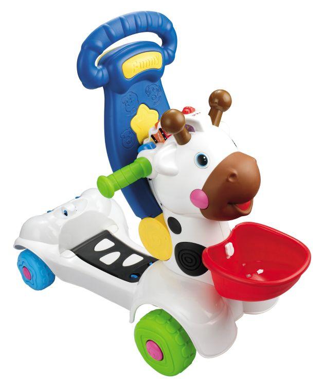新品热卖早教玩具批发趣味婴幼儿多功能小鹿学步车踏行车厂家直销