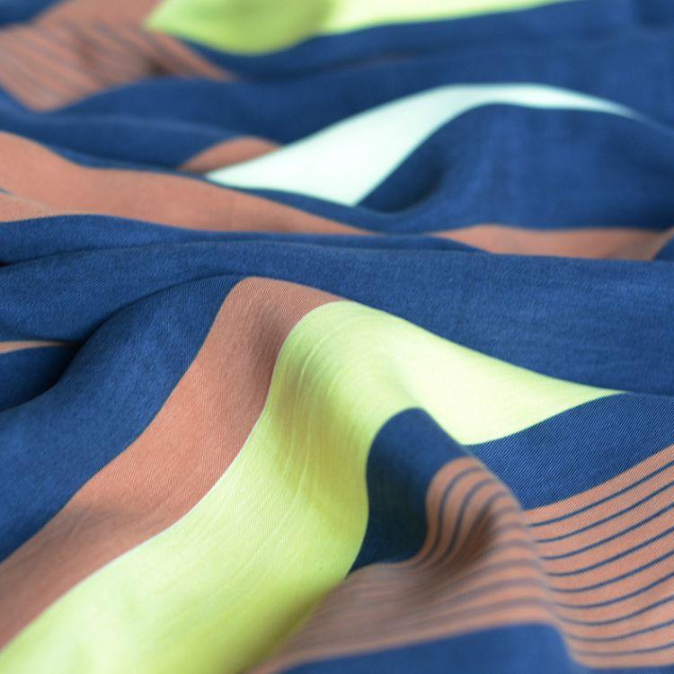 直销30S服装天丝面料 砂洗染色斜纹天丝胚布 定型加工黏胶面料