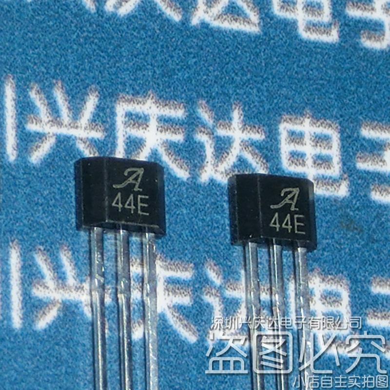 A3144EUA-T 丝印3144 高灵敏度霍尔开关传感器 TO-92S