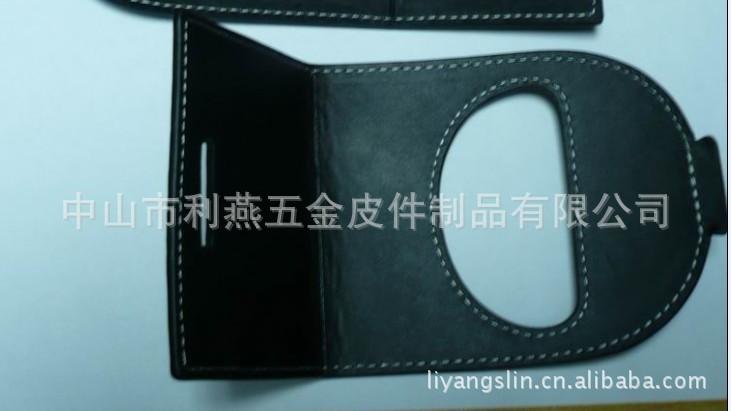 厂家供应最新款高档支撑式真皮质手机座可加印LOGO按要求定做