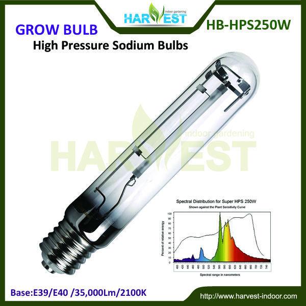 Greenhouse light HPS 250W 温室高压钠灯