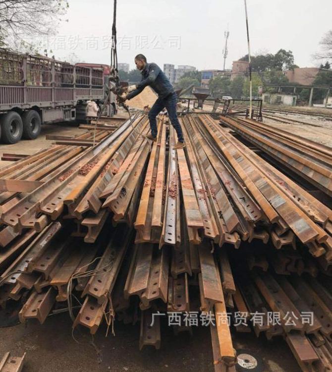 深圳  地铁 高铁 铁路钢轨12.5米P43再用钢轨 旧钢轨 出售出租