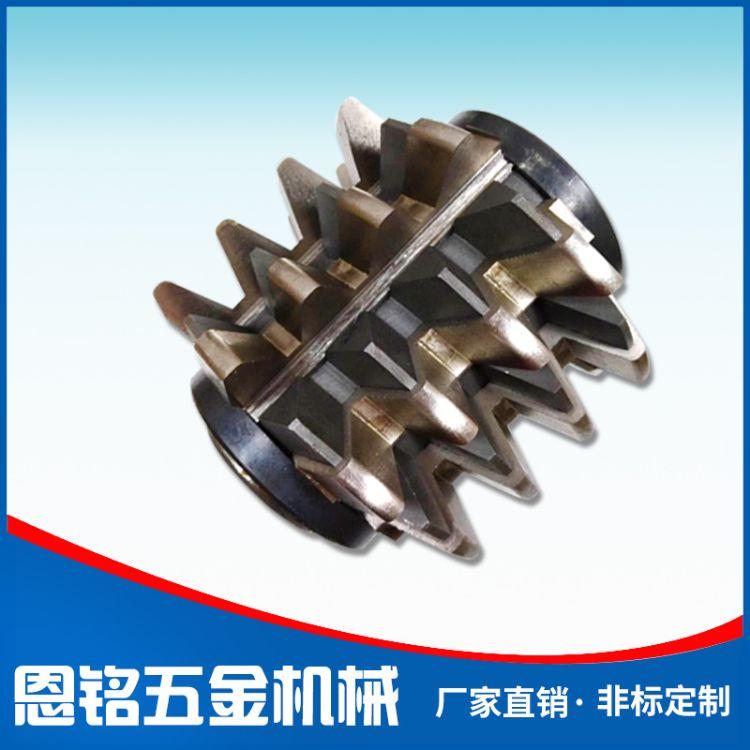 齿轮镶片滚刀 大模数齿轮滚刀 非标定制 链条皮带轮滚齿刀