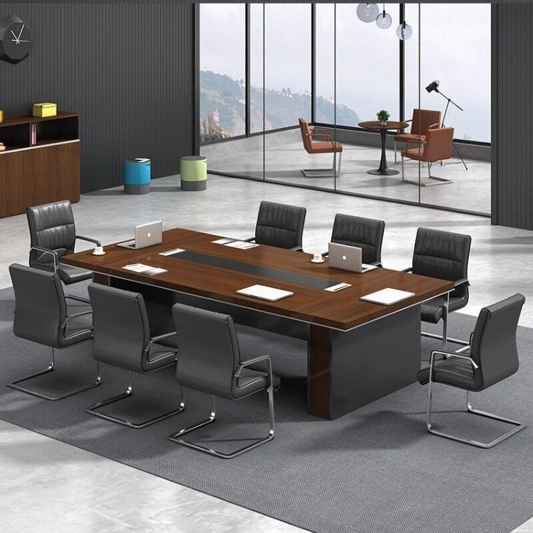 上海办公会议桌 会议室高档洽谈桌 简约现代板式可定制 碧江家具