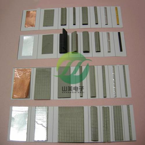 厂家供应全方位导电海棉导电布导电泡棉强粘性导电海棉可订做成型