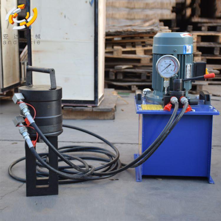 厂家直供钢筋液压机挤压连接机一次成型压三道钢筋冷挤压机