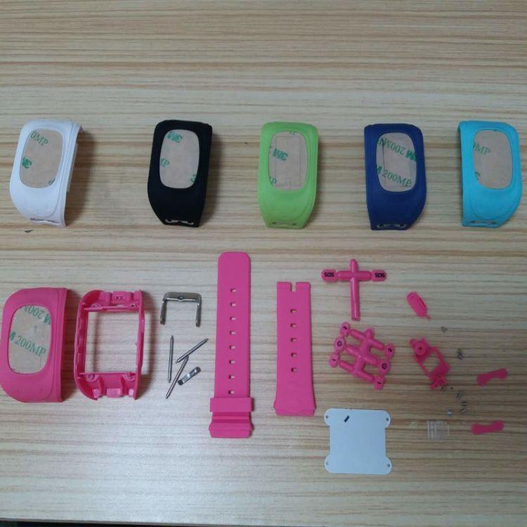 全新q50儿童电话手表智能手表配件机壳表带面壳底壳电盖螺丝全套