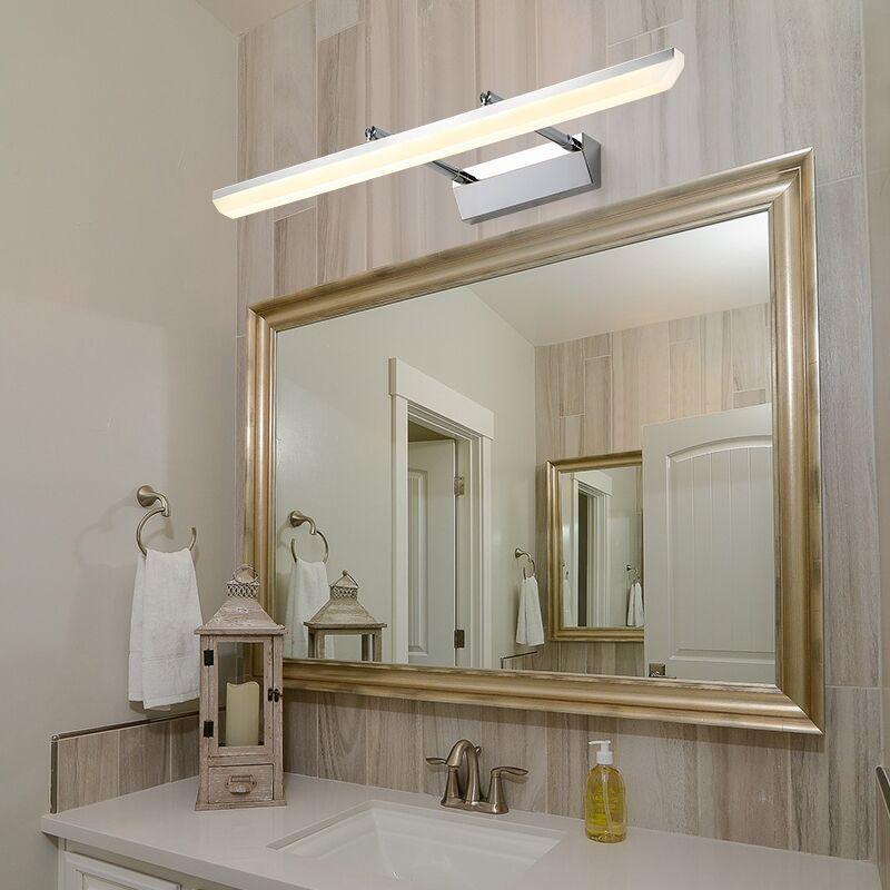 亚马逊热销led简约洗手间壁灯镜子灯化妆灯卫生间浴室伸缩镜柜灯