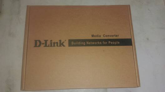 友讯(D-Link)dlink DFE-852 快速以太网 光纤收发器 单模 百兆