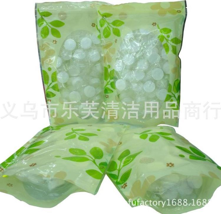50颗袋装糖果一次性压缩白色毛巾便携式纤维无纺布压缩毛巾