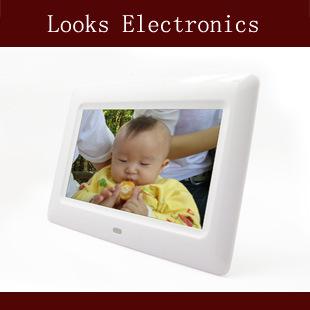 热卖多功能7寸高清数码相框 数码礼品
