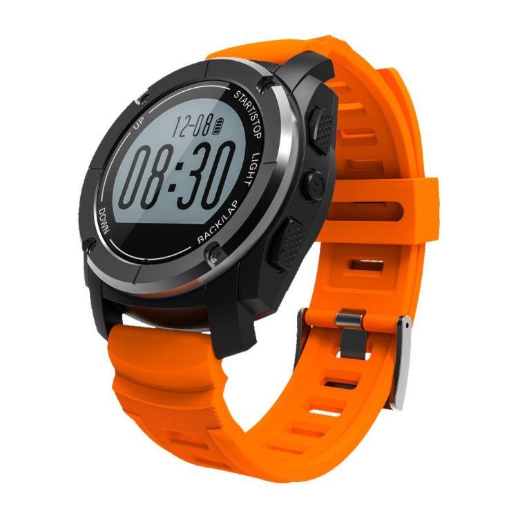 户外GPS运动智能表气压温度高度心率骑行登山跑步定位 手表GP
